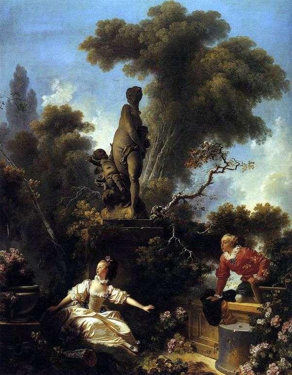 约会   Jean Honore Fragonard