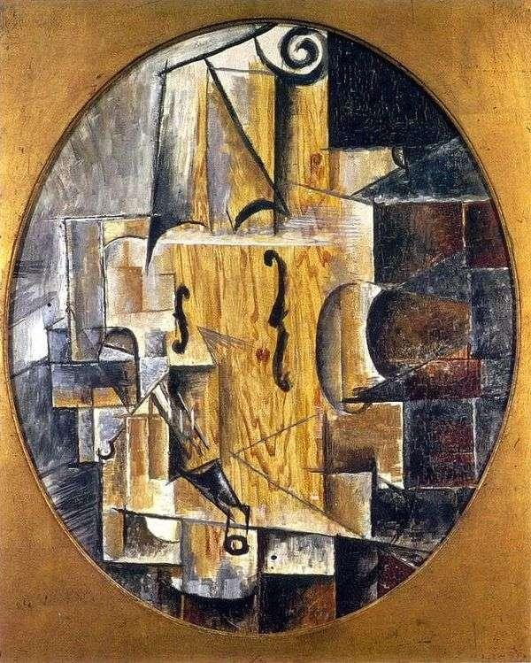 小提琴   Pablo Picasso