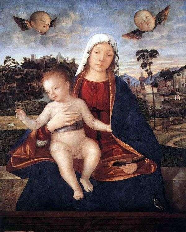 麦当娜和儿童   Vittore Carpaccio