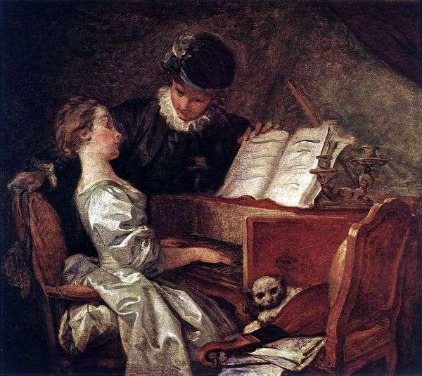 音乐课   Jean Honore Fragonard