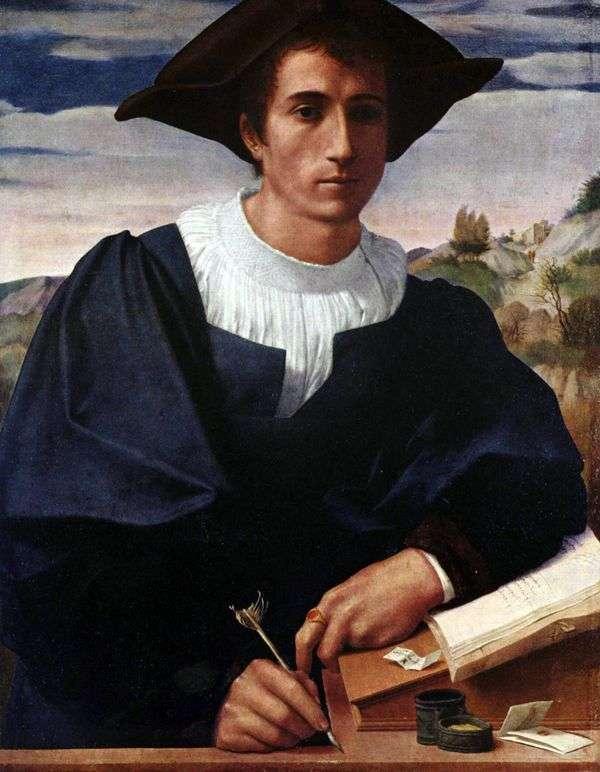 书桌的年轻人   弗朗切斯科di Cristofano Franciabigio