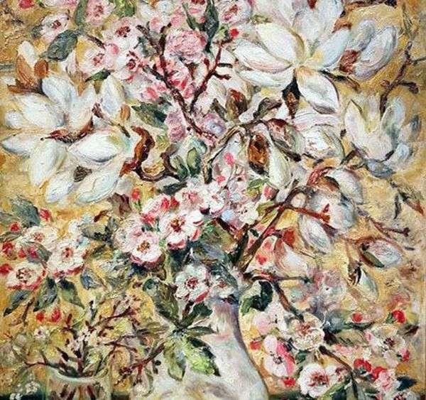 花瓶   Natalia Goncharova