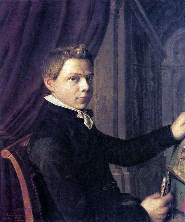 青年自画像   劳伦斯 阿尔玛   塔德玛