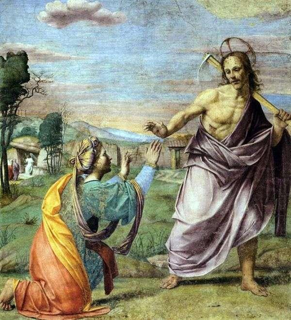 基督出现   Franciabigio