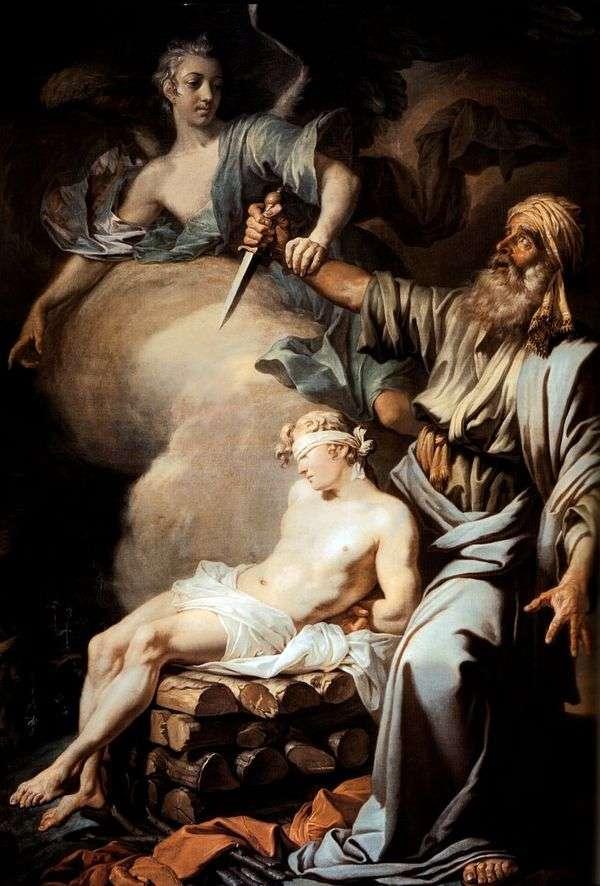 亚伯拉罕牺牲了他的儿子艾萨克(亚伯拉罕的牺牲)   安东洛森科