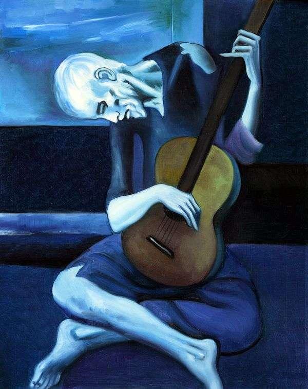 老吉他手   巴勃罗毕加索