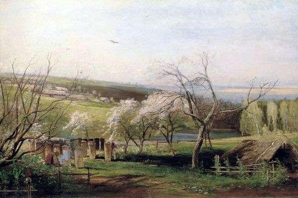 乡村景色   阿列克谢萨夫拉索夫