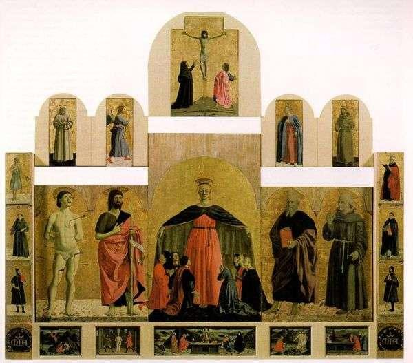 祭坛图像来自慈悲兄弟会   皮耶罗德拉弗朗西斯卡