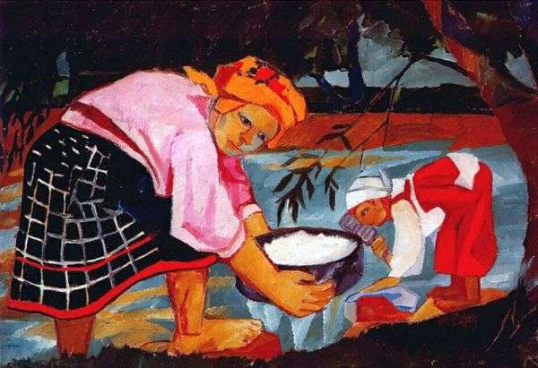 农妇   Natalia Goncharova