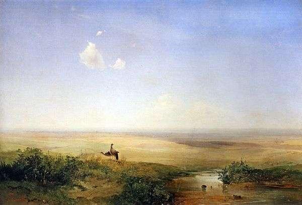 下午的草原   阿列克谢萨夫拉索夫
