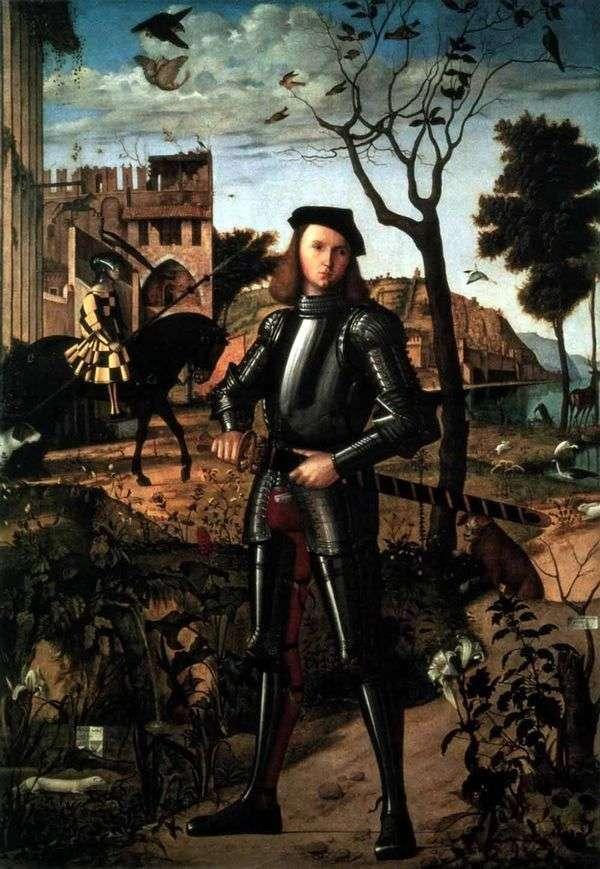 骑士的画象   维托里奥Carpaccio