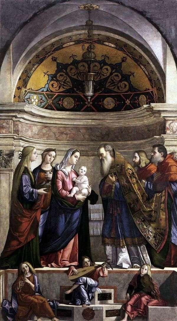 带到寺庙   Vittorio Carpaccio