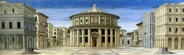 完美的城市   皮耶罗德拉弗朗西斯卡的视图