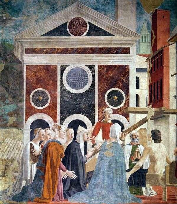 提升圣十字架   皮耶罗德拉弗朗西斯卡
