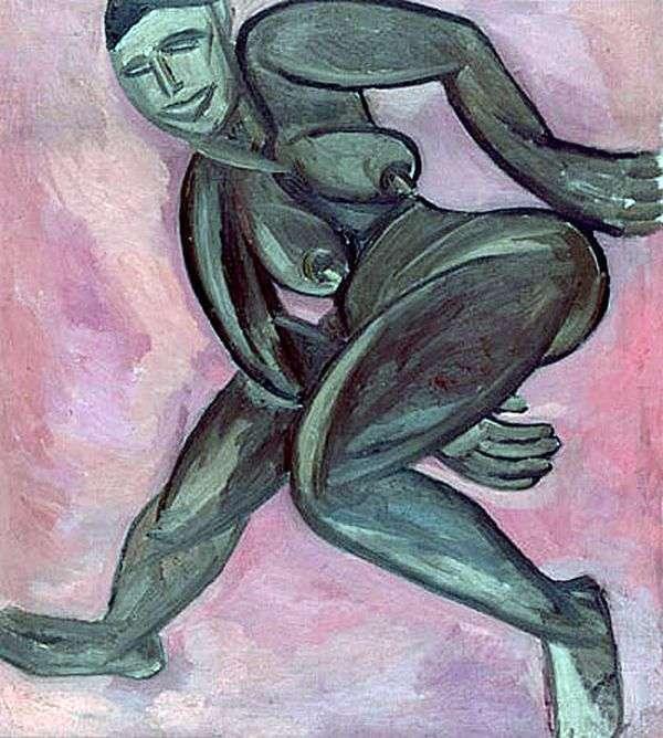 裸体黑人女人   纳塔利娅Goncharova