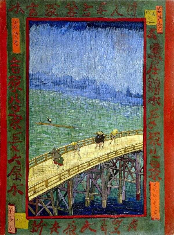 雨之桥   文森特梵高