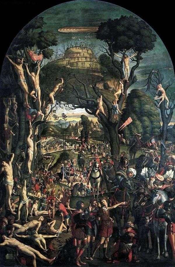 在亚拉腊山   Vittore Carpaccio被钉十字架并杀死一万人