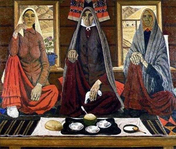 三个女人   Akhmat Lutfullin