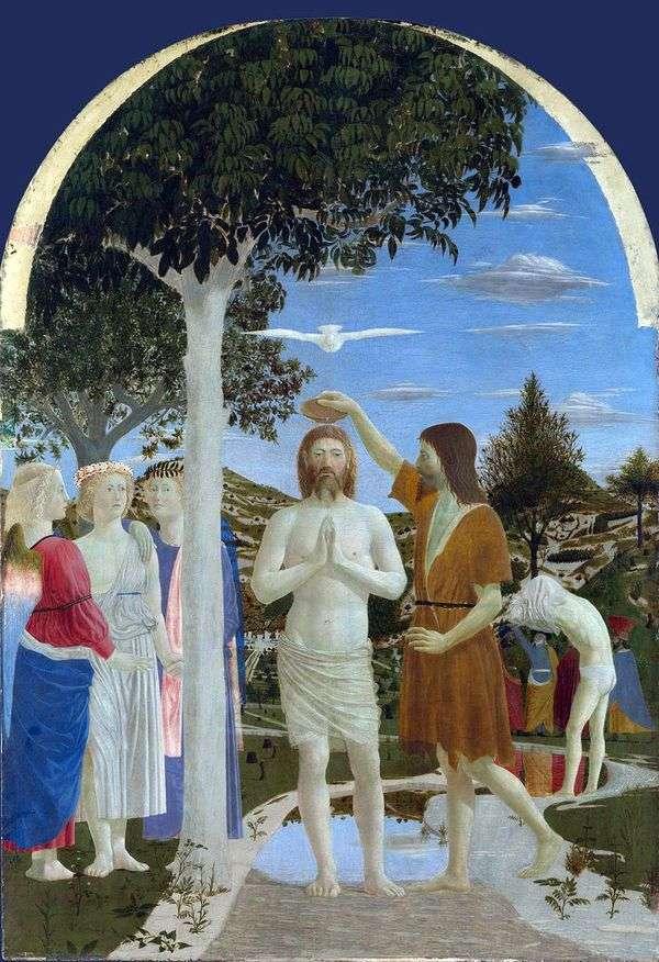 基督的洗礼   皮耶罗德拉弗朗西斯卡
