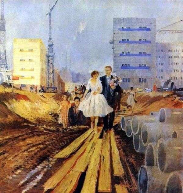 明天的街道上的婚礼   尤里皮梅诺夫