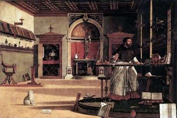 圣奥古斯丁   Vittore Carpaccio