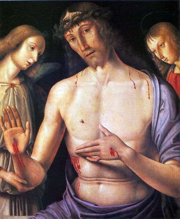 基督与两位天使   乔瓦尼桑蒂
