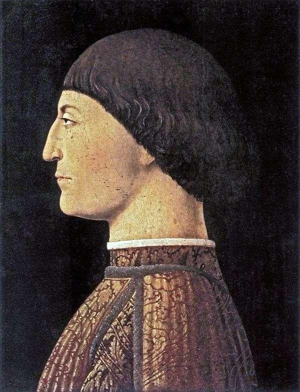 Sigismondo Malates画象   Piero della Francesca