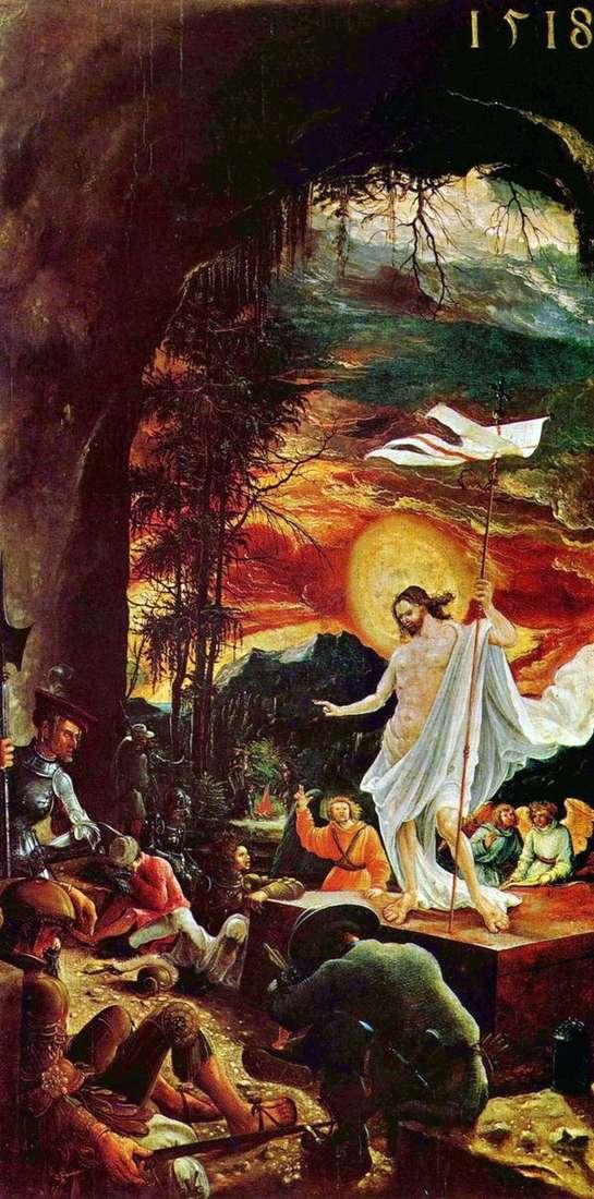 基督的复活   阿尔布雷希特Altdorfer