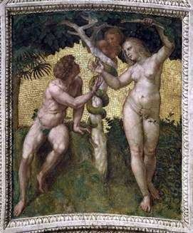 亚当和夏娃   拉斐尔桑蒂