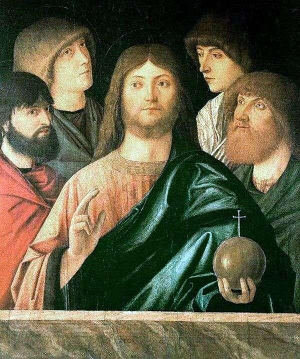 救世主和四使徒   Vittore Carpaccio
