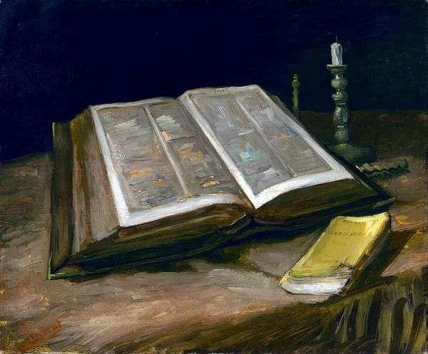 静物与圣经   文森特梵高