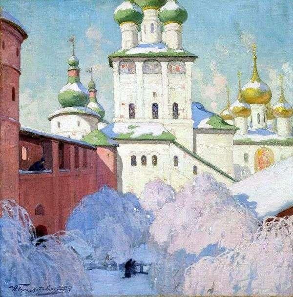 冬季。罗斯托夫克里姆林宫   伊万Goryushkin Sorokopudov