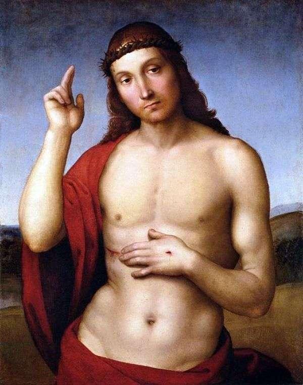 基督的祝福(Pax Vobiscum)   Rafael Santi