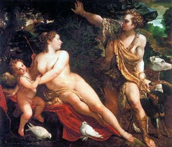 维纳斯,阿多尼斯和丘比特   安尼巴莱卡拉奇