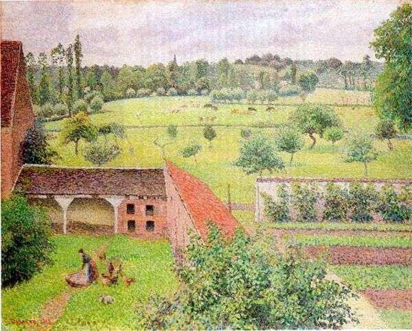 从我的窗口查看   Camille Pissarro