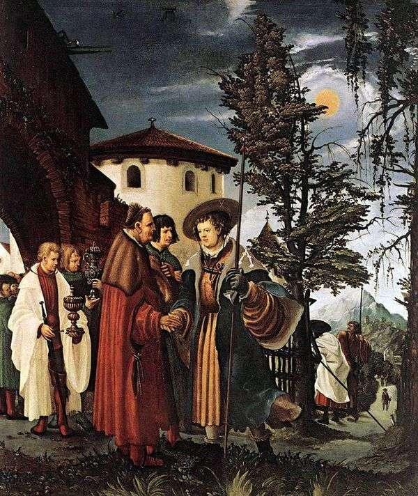 圣弗洛里安告别修道院   阿尔布雷希特Altdorfer