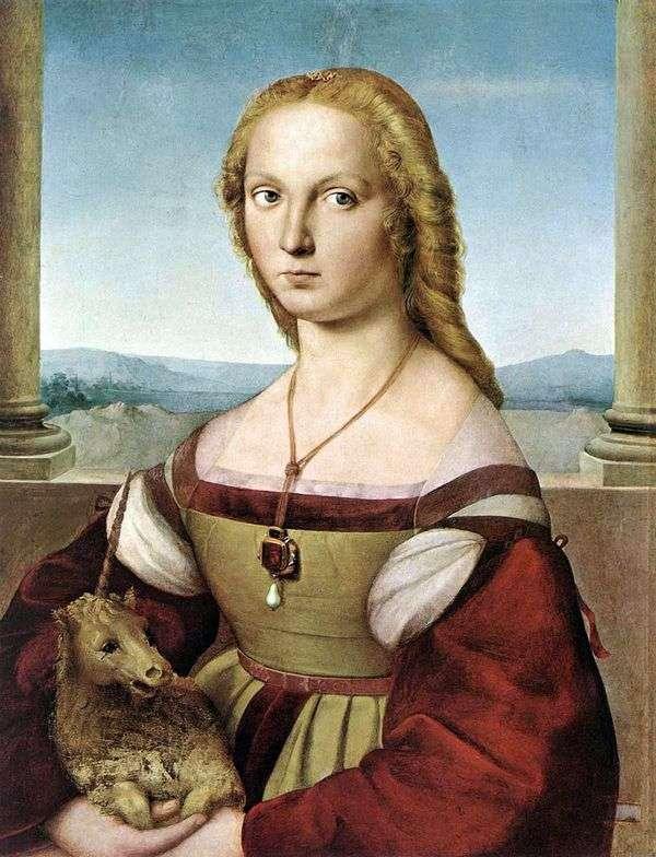 有独角兽的女士   拉斐尔桑蒂