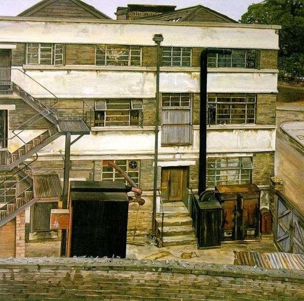 伦敦工厂   Lucien Freud