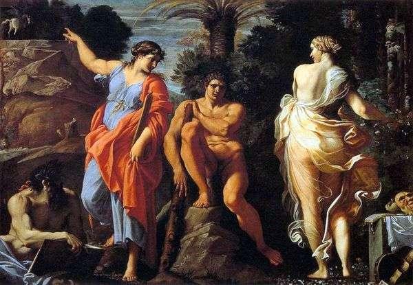 赫拉克勒斯的选择   Annibale Carracci