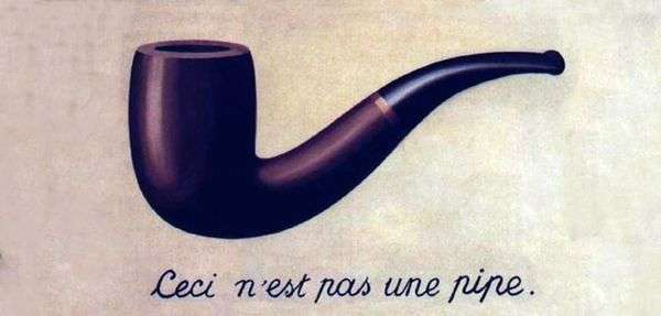 这不是管道   Rene Magritte