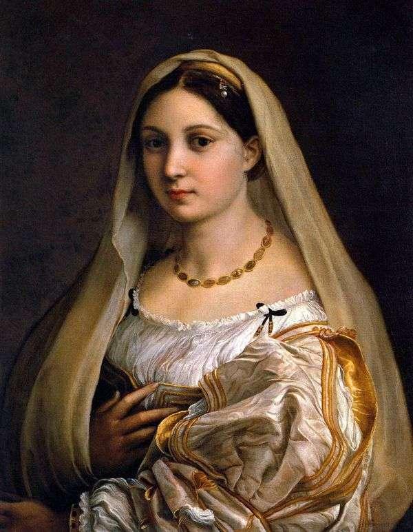 带面纱的女士(La Donna Velata)   Rafael Santi