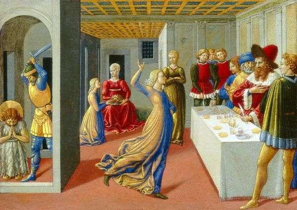 希律王的盛宴和施洗约翰的斩首   贝诺佐 戈佐利