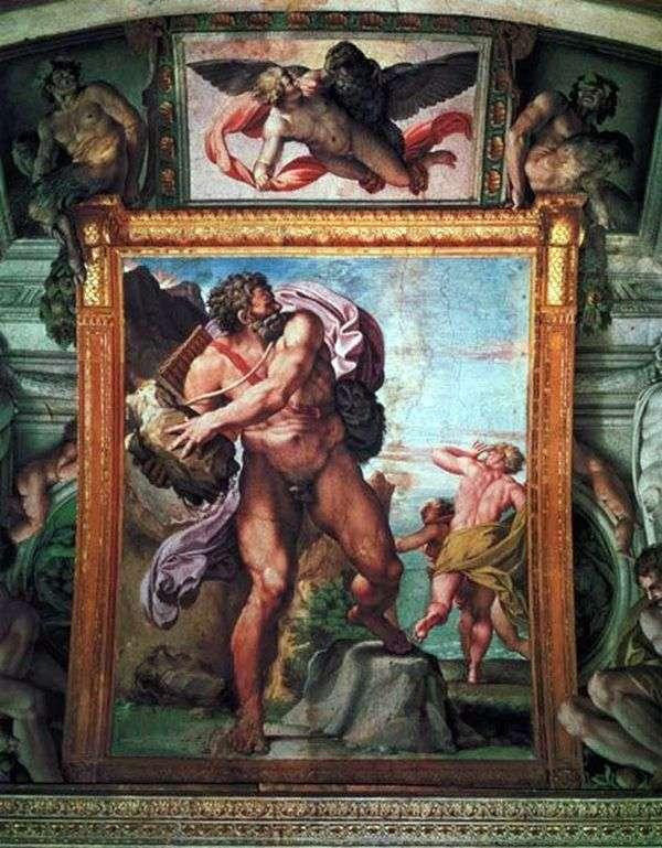 愤怒的Polyphemus   Annibale Carracci
