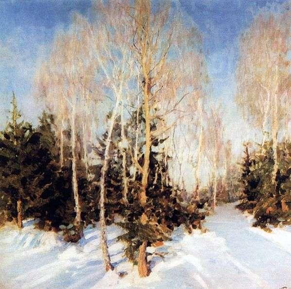 冬季景观   伊戈尔格拉巴