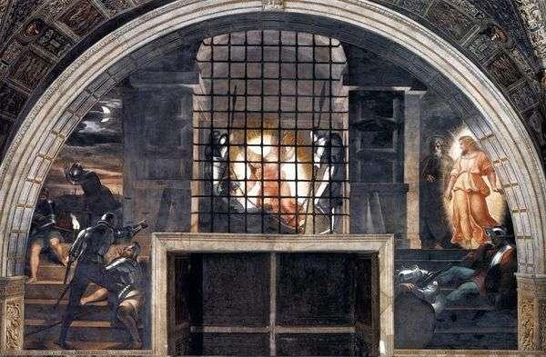 来自监狱的神圣使徒彼得的叙述   拉斐尔桑蒂