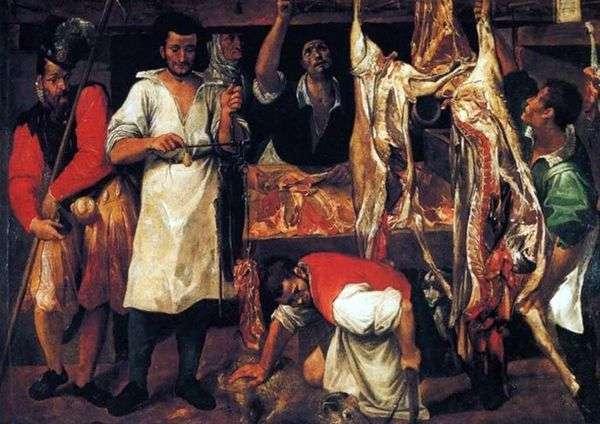 肉店   Annibale Carracci