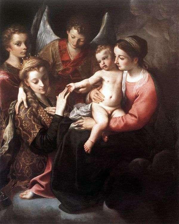 圣凯瑟琳   安尼巴莱卡拉奇的订婚