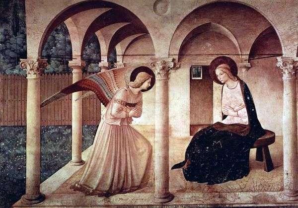 天使报喜   Fra Beato Angelico