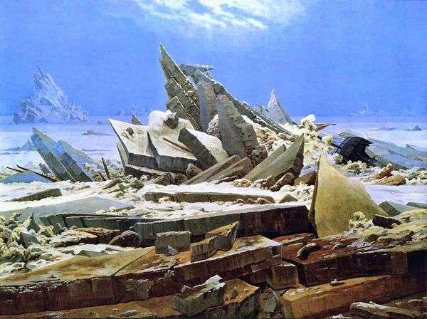 北极海难   卡斯帕大卫弗里德里希