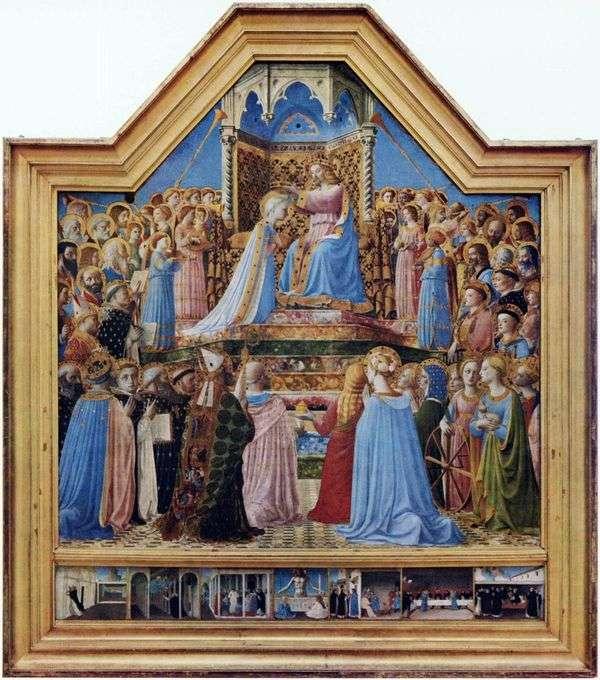 加冕圣母玛利亚   Fra Beato Angelico